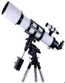 กล้องโทรทรรศน์แบบหักเหแสง ขนาดไม่น้อยกว่า 120 มม.