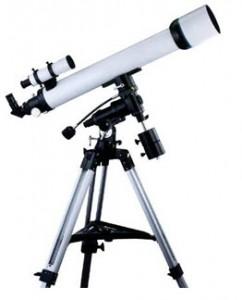 กล้องโทรทรรศน์แบบหักเหแสง ขนาด 4 นิ้ว แบบมีมอเตอร์ตามดาว1